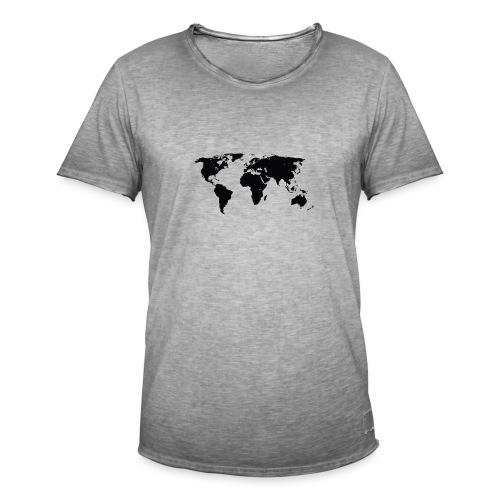World - Herre vintage T-shirt