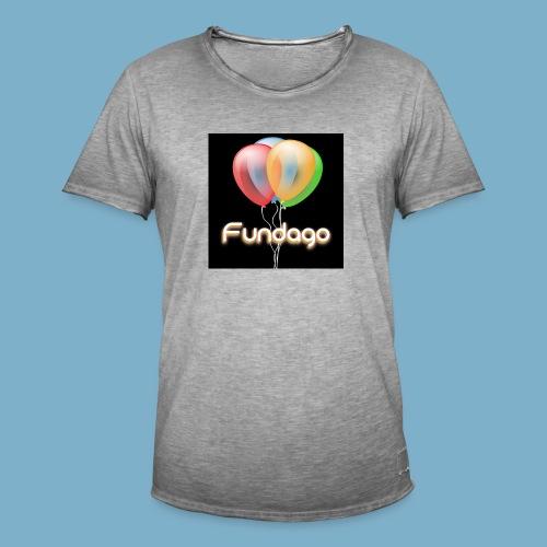 Fundago Ballon - Männer Vintage T-Shirt