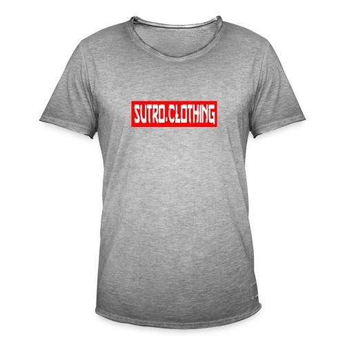 sutrobogo - Männer Vintage T-Shirt