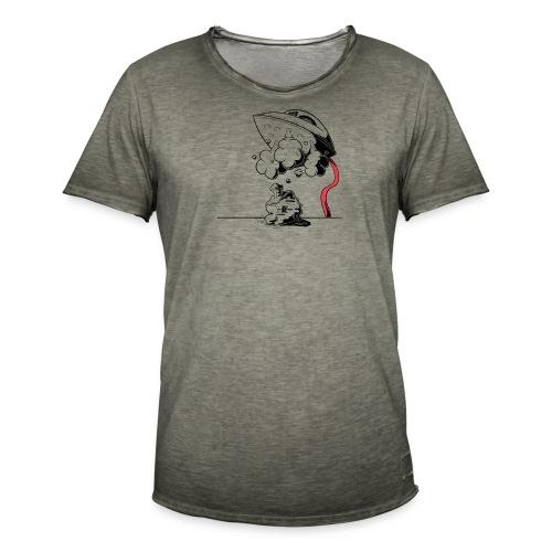 strijkijzer - T-shirt vintage Homme