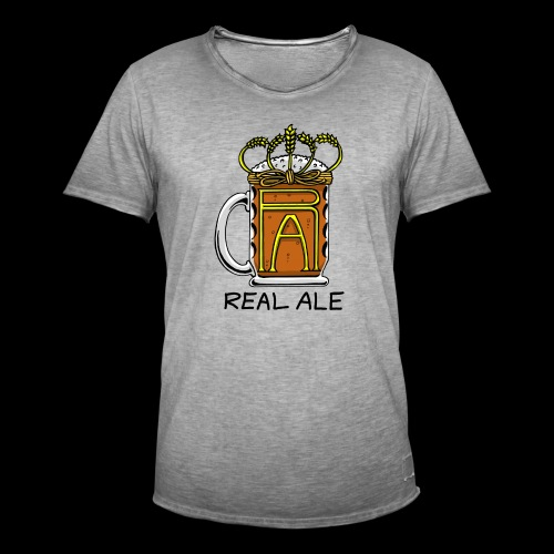 Real Ale - Men's Vintage T-Shirt