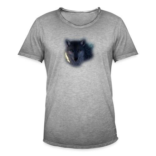 Felpa Wolf - Men's Vintage T-Shirt
