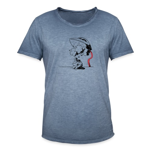 fer - T-shirt vintage Homme