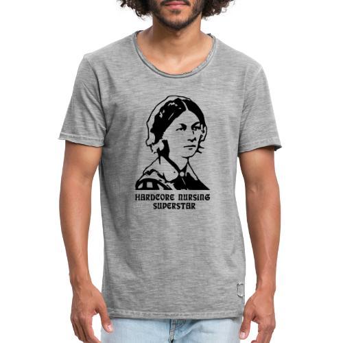 HC Nursing Superstar - Florence Nightingale - Miesten vintage t-paita