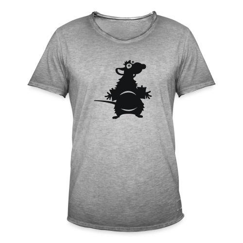 Wasserratte - Männer Vintage T-Shirt