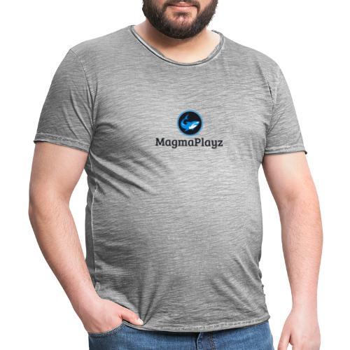 MagmaPlayz shark - Herre vintage T-shirt