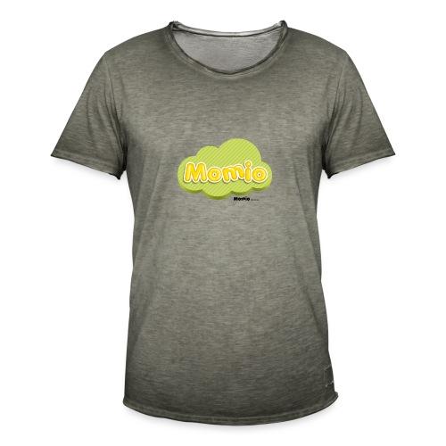 Logo van Momio - Mannen Vintage T-shirt