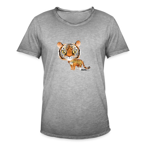 Tijger - Mannen Vintage T-shirt