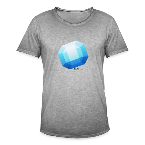 Saphir - Männer Vintage T-Shirt