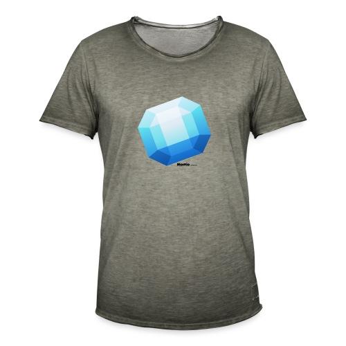Saffier - Mannen Vintage T-shirt
