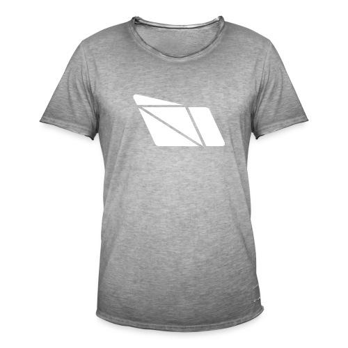 Raid - Full White - Männer Vintage T-Shirt