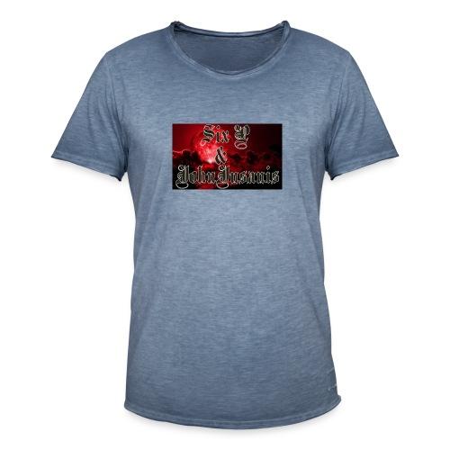 Six P & John Insanis T-Paita - Miesten vintage t-paita