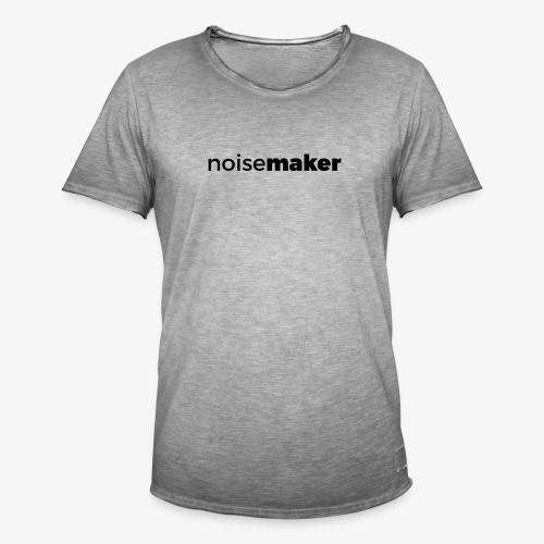 noisemaker - Männer Vintage T-Shirt