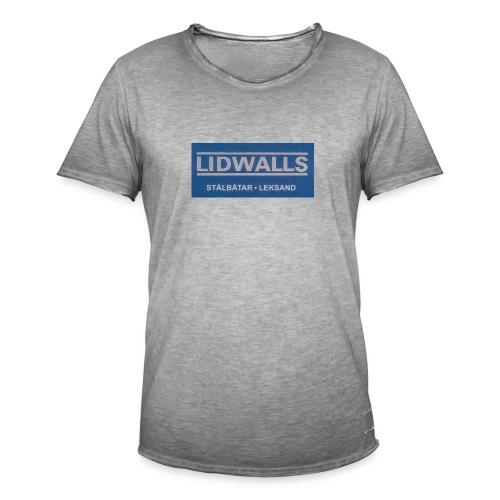 Lidwalls Stålbåtar - Vintage-T-shirt herr