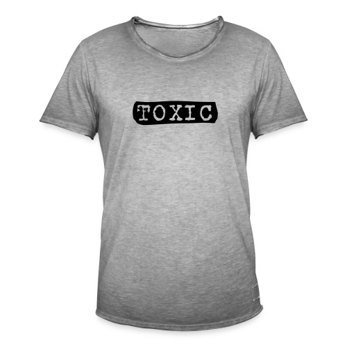 toxisch - Männer Vintage T-Shirt