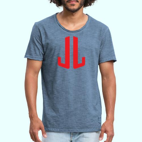JL + NEXT LEVEL BODY - Miesten vintage t-paita