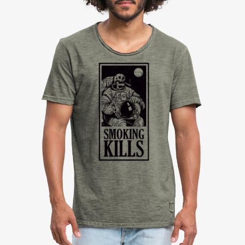 Smoking Kills - Herre vintage T-shirt