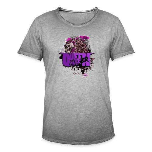 QM SKULL - Vintage-T-shirt herr