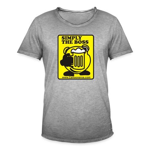 Simply the Boss - Men's Vintage T-Shirt