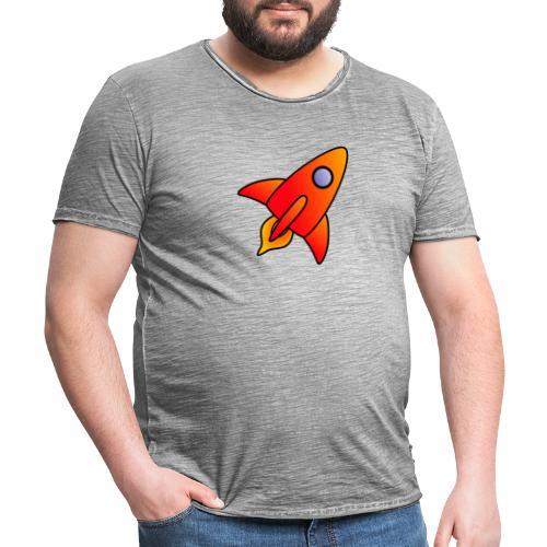 Red Rocket - Men's Vintage T-Shirt