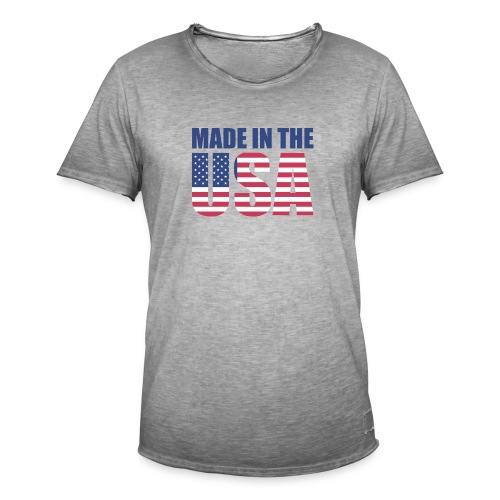 Made in USA - Vintage-T-shirt herr