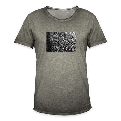 cobblestone shirt - Mannen Vintage T-shirt