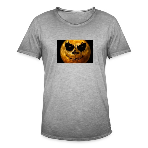 Halloween Mond Shadow Gamer Limited Edition - Männer Vintage T-Shirt