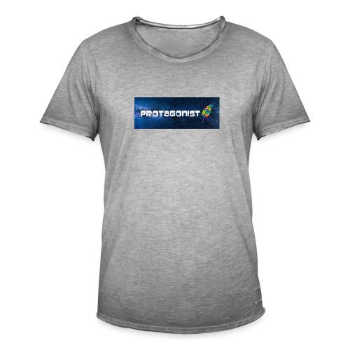Protagonist by Schreiben-im-Flow.de - Männer Vintage T-Shirt