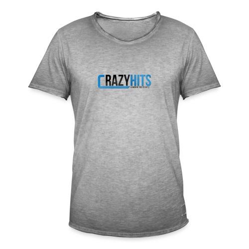 CrazyHIT - T-shirt vintage Homme