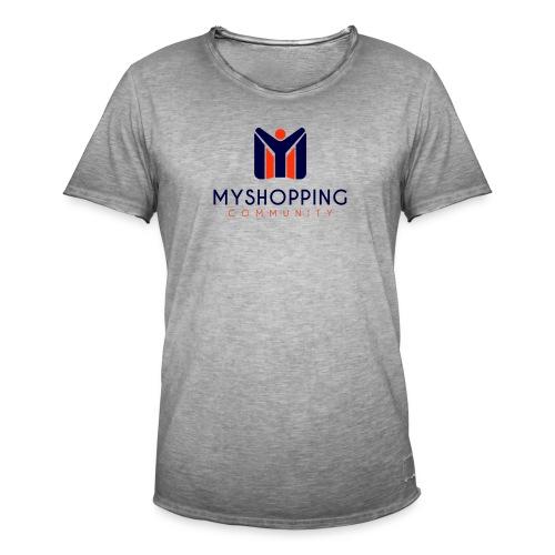 logo MYSC verticale - Maglietta vintage da uomo