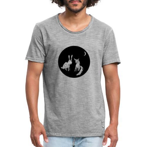 fuxundhase 02 - Männer Vintage T-Shirt