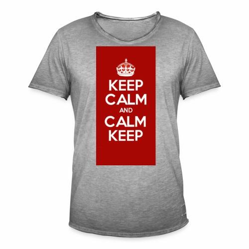 Keep Calm Original Shirt - Men's Vintage T-Shirt
