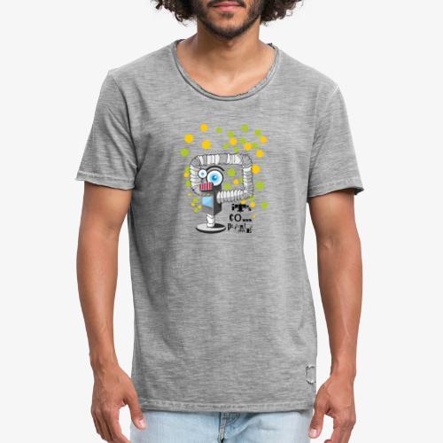 robbo - Koszulka męska vintage