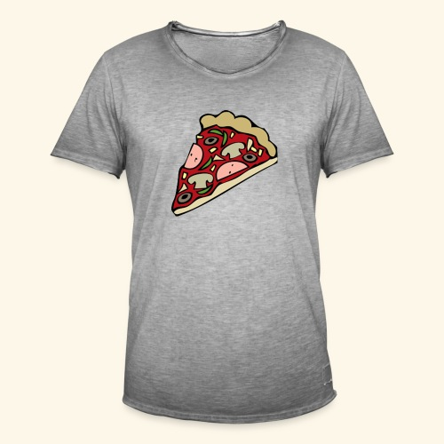 Pizza - T-shirt vintage Homme