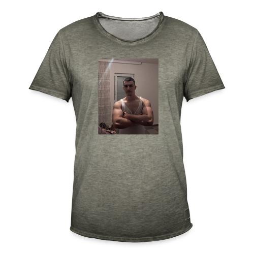 Bodybuilding muscle guy - Männer Vintage T-Shirt