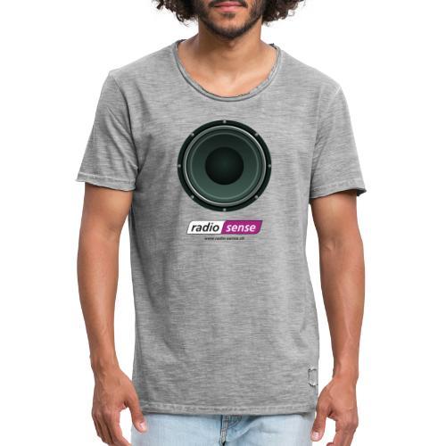 RADIO-SENSE: Lautsprecher - Männer Vintage T-Shirt