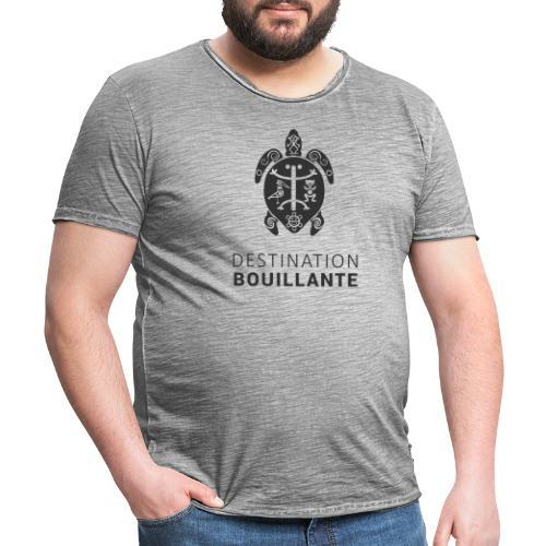 Destination Bouillante simple - T-shirt vintage Homme