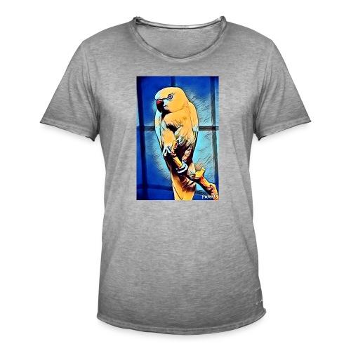 Bird in color - Miesten vintage t-paita
