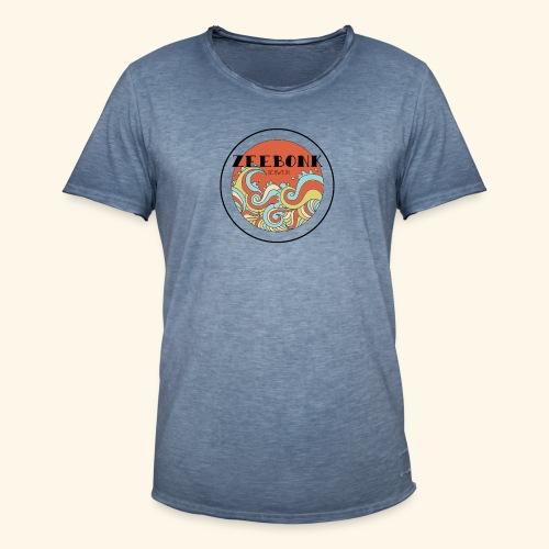 zeebonkwaves - Mannen Vintage T-shirt