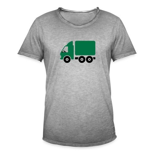 LKW Comic - Männer Vintage T-Shirt