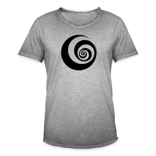Swirl - Männer Vintage T-Shirt