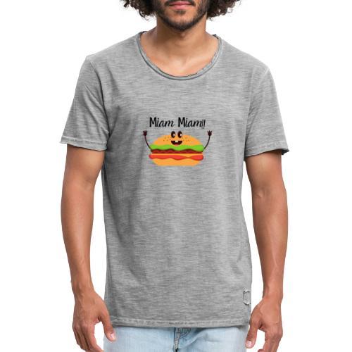 Miam Miam - T-shirt vintage Homme