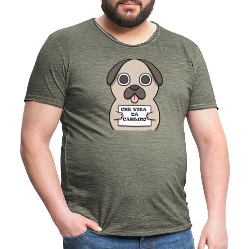 VITA DA CARLINO - Maglietta vintage da uomo