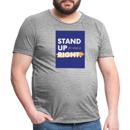 03723A0F FC04 4886 ACEC BB0A8F7400D9 - Men's Vintage T-Shirt