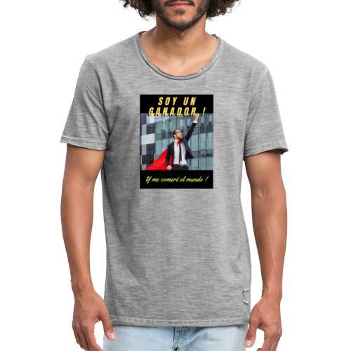 SOY UN GANADOR 2 - Camiseta vintage hombre