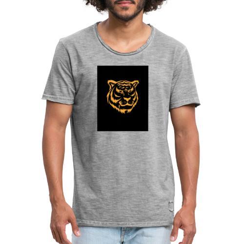gold tiger - Camiseta vintage hombre