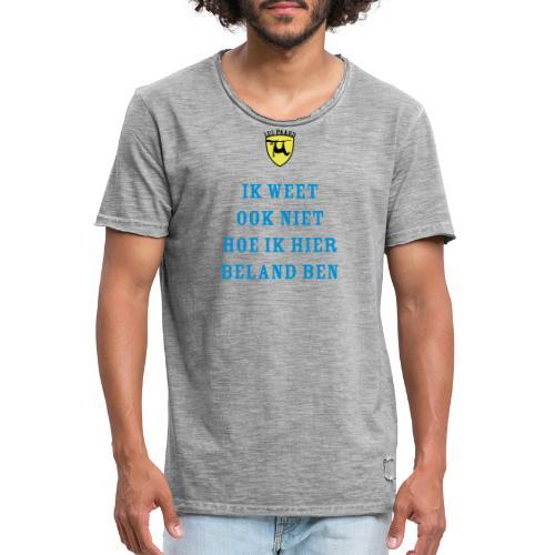 Lui paard beland - Mannen Vintage T-shirt