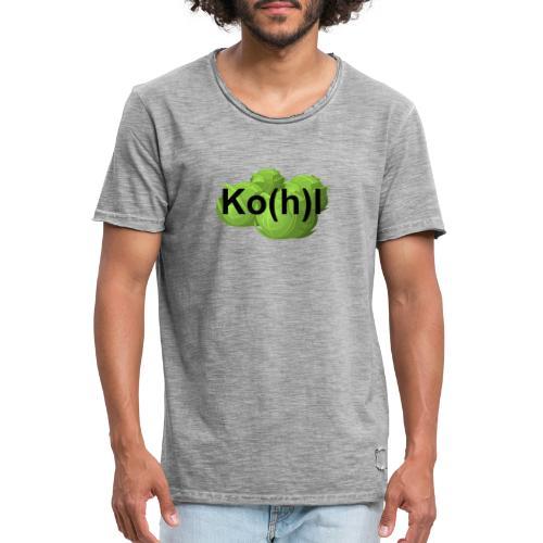 Ko(h)l - Männer Vintage T-Shirt