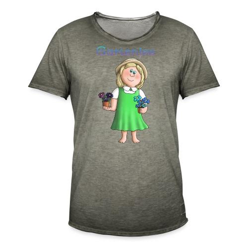 Süßes Garten Mädchen - Gartenfee - Männer Vintage T-Shirt