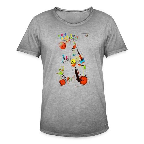 cola cherry 05 - Maglietta vintage da uomo